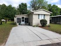 Homes for Sale in Three Seasons Mobile Home Park, Brooksville, Florida $22,000