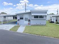 Homes for Sale in Holiday Mobile Home Park, Lakeland, Florida $12,999
