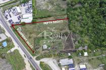 Lots and Land for Sale in Belize City, Belize $1,100,000