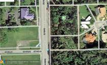 Lots and Land for Sale in Davie, Florida $550,000