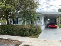 Homes for Sale in Paradise Village, Davie, Florida $45,000