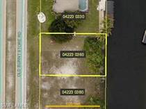 Lots and Land for Sale in Cape Coral, Florida $64,900