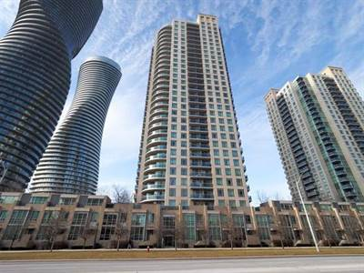 2 Bedroom Condo In Heart Of Mississauga! Corner Suite With Balcony!