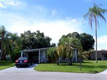 Homes for Sale in Camelot Lakes MHC, Sarasota, Florida $31,900