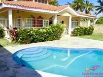 Homes for Sale in Cabarete, Puerto Plata $559,000
