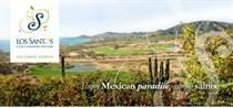 Lots and Land for Sale in La Canada, San Jose del Cabo, Baja California Sur $2,500,000