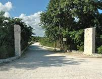 Lots and Land for Sale in Santa Teresita, Akumal, Quintana Roo $85,000