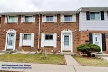 Condos Sold in Eastside, Windsor, Ontario $159,900