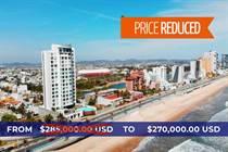 Condos for Sale in Telleria, Mazatlan, Sinaloa $270,000