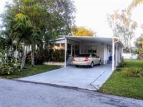 Homes for Sale in Coral Cay, Margate, Florida $33,000