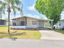 Homes Sold in Foxwood Village, Lakeland, Florida $27,750