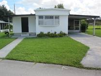 Homes Sold in Twin Palms Mobile Home Park, Lakeland, Florida $16,500