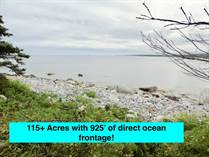 Lots and Land for Sale in East Side Port L'Hebert, Queens, Nova Scotia $299,000