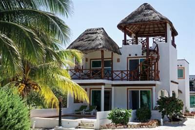 "San Bruno, Yucatan Presents ""VILLA SAN BRUNO"" Steps to the Beach"