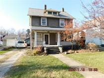 Homes for Sale in Ashtabula, Ohio $40,900