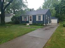 Homes for Sale in Maple Lane, South Bend, Indiana $139,900