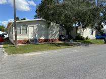 Homes for Sale in Lamplighter On The River, Tampa, Florida $48,000