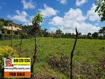 Lots and Land for Sale in Sosua, Puerto Plata $98,000