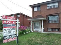 Homes Sold in Jane/Alliance Avenue, Toronto, Ontario $968,000