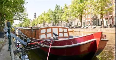 Keizersgracht, Suite Woonboat, Amsterdam