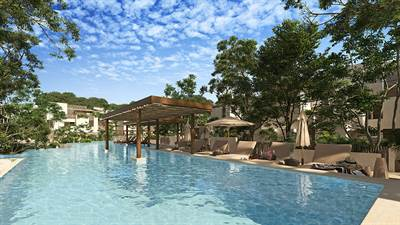 2 Br. Condo Surrounded by Nature in Gated Community, Tulum