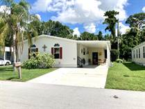 Homes for Sale in Spanish Lakes Fairways, Fort Pierce, Florida $52,500