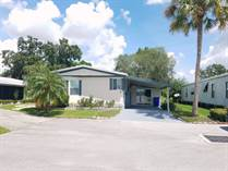 Homes for Sale in Mas Verde MHP, Lakeland, Florida $34,900