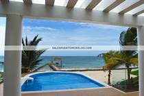 Homes for Sale in Beach front, Puerto Morelos, Quintana Roo $1,500,000