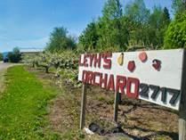 Farms and Acreages for Sale in Central Creston, British Columbia $1,600,000