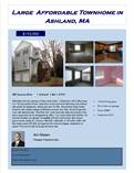Condos for Sale in The Villages Of America, Ashland, Massachusetts $193,900