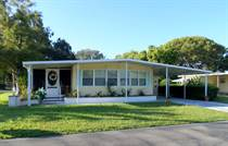 Homes for Sale in Camelot Lakes MHC, Sarasota, Florida $46,900