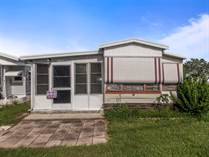 Homes for Sale in Blue Jay Mobile Home Park, Dade City, Florida $8,000