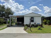 Homes for Sale in Anglers Green Mobile Home Park, Mulberry, Florida $24,900