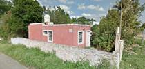 Homes for Sale in Motul Municipality, Motul, Yucatan $17,900