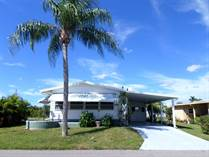 Homes for Sale in Camelot Lakes MHC, Sarasota, Florida $72,000
