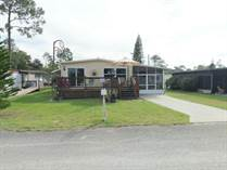 Homes for Sale in Cypress Gardens MHP, Winter Haven, Florida $29,500