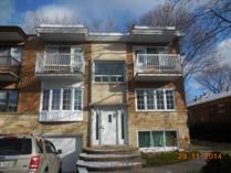 Multifamily Dwellings for Sale in Quebec, Ahuntsic-Cartierville, Quebec $899,000