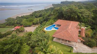 Magnificent Home in Ojochal Overlooking the River Mouth