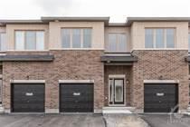 Homes for Sale in Findlay Creek, Ottawa, Ontario $649,000