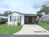 Homes for Sale in Arbor Oaks Mobile Home Park, Zephyrhills, Florida $39,900
