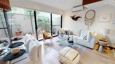 Magnificent 4 Br. Residence in a Gated Community in Playa del Carmen