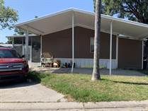 Homes for Sale in Countryside Village Mobile Home Park, Tampa, Florida $83,950