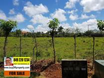 Lots and Land for Sale in Sosua, Puerto Plata $150,000