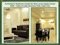 Condos for Rent/Lease in Cebu Business Park, Cebu City, Cebu ₱45,000 monthly