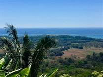 Lots and Land for Sale in Uvita Hills, Uvita, Puntarenas $279,000