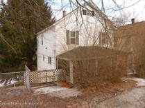 Multifamily Dwellings for Sale in Forest City, Pennsylvania $20,000