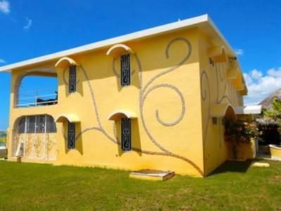 "Celestun, Yucatan  Presents ""THE YELLOW HOUSE IN PARADISE"", Beach Front"