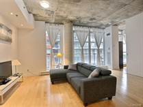 Condos for Rent/Lease in Downtown/Cite Multimedia, Montréal, Quebec $1,650 monthly