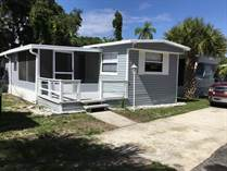 Homes for Sale in Cape Canaveral Trailer Park, Cape Canaveral, Florida $45,500