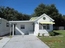 Homes for Sale in HILLCREST RV PARK, Zephyrhills, Florida $11,000